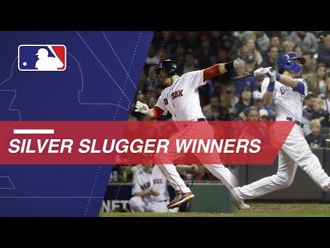 Video: 2018 Silver Slugger Award winners announced
