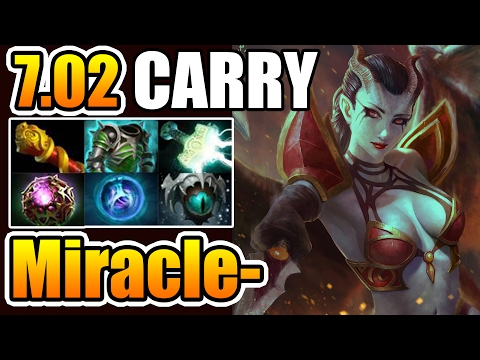 Miracle- [QOP] Best Carry Build For Queen Of Pain Dota2 7.02