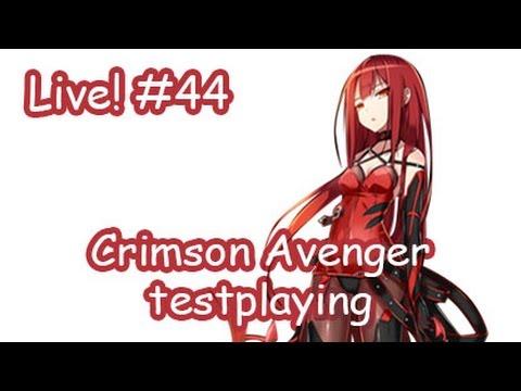 [Elsword KR] Crimson Avenger testplaying : Live streaming #44