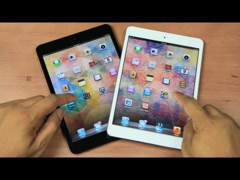 new ipad review - Here is my review of the new Apple iPad mini. The iPad mini is a 7.9 in tablet that aims at it's biggest competitors, the Google Nexus 7 and Amazon Kindle Fi...