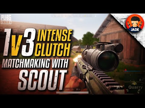 Matchmaking With Sc0ut In PUBG PC Lite - Intense 1v3 Battle 🔥🔥