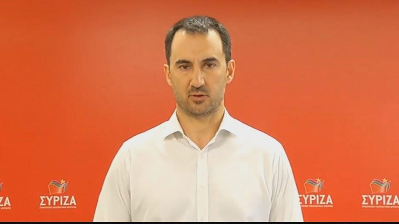 """Δήλωση του Αλέξη Χαρίτση για το πρόγραμμα """"Αντώνης Τρίτσης"""""""
