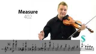 Brahms Symphony No. 4, Mvt. I Violin Excerpt Lesson (392-End)