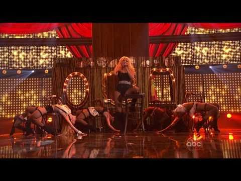 HD Christina Aguilera - Express( Burlesque)  AMA 2010 HD (видео)