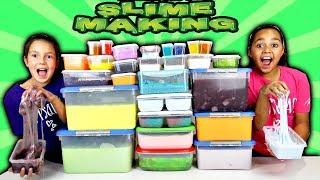 Video Mixing All My Slimes! DIY Giant Slime Smoothie MP3, 3GP, MP4, WEBM, AVI, FLV September 2018