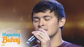 """Magandang Buhay: Matteo Guidicelli sings """"Ipapadama Na Lang"""""""
