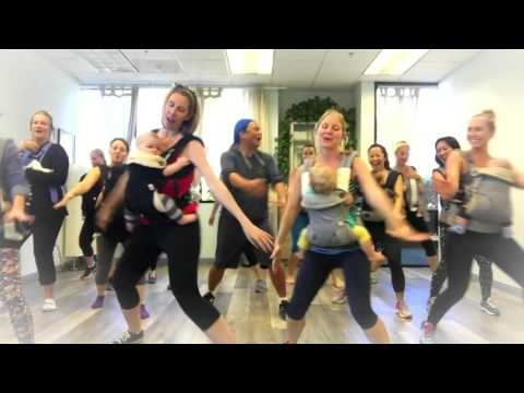 San Diego Moms And Their Babies Pulled Of The CUTEST Choreographed Dance!