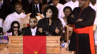 Cece Winans Whitney Houston's Funeral