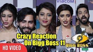 Video Bigg Boss 11 Crazy Reactions | Bigg Boss EX Contestants And TV Celebrities Reaction On Bigg Boss 11 MP3, 3GP, MP4, WEBM, AVI, FLV November 2017