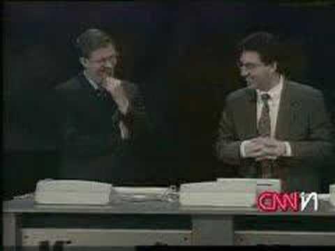 Banned commercials - windows 98 crashed on live tv