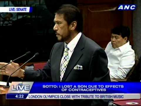 Sotto's Voice leads Filipino debate on Reproductive Health