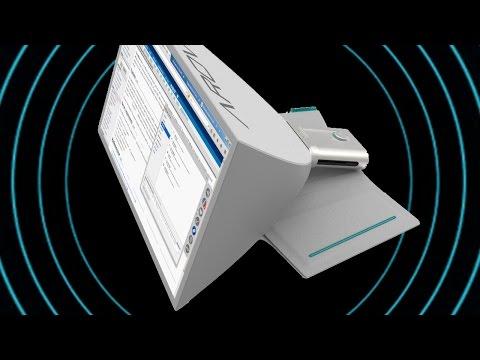 Складной дисплей SPUD: 24 дюйма -сложил и унес - портативный монитор и складной экран - Kickstarter (видео)
