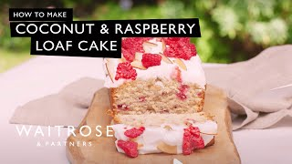 Rich Harris makes this deliciously sweet cake - it's the perfect summer bake.  See the full recipe  http://www.waitrose.com/content/waitrose/en/home/recipes/recipe_directory/c/coconut-and-raspberryloafcake.html?utm_source=youtube&utm_medium=social&utm_campaign=recipe&utm_content=raspberryloafcakeTwitter  http://www.twitter.com/waitroseFacebook  http://www.facebook.com/waitroseInstagram  http://www.instagram.com/waitrose Pinterest  http://www.pinterest.com/waitroseMore great recipes, ideas and groceries  http://www.waitrose.com