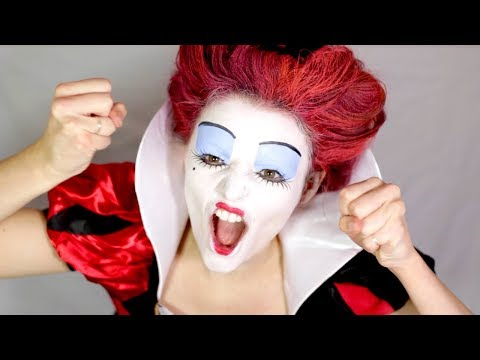 EASY QUEEN OF HEARTS MAKE-UP TUTORIAL