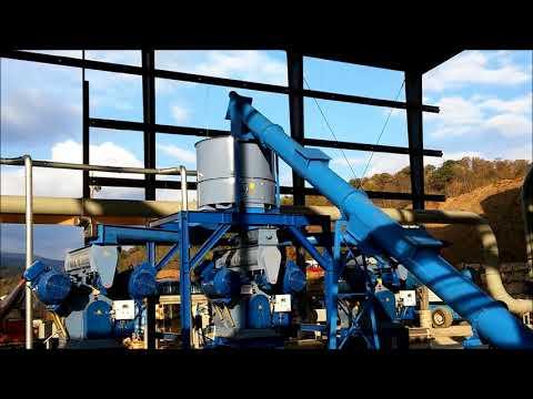 9 ton/hr Pellet Plant