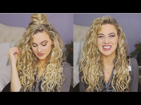 Holiday Hairstyles for Waves/Curls   India Batson