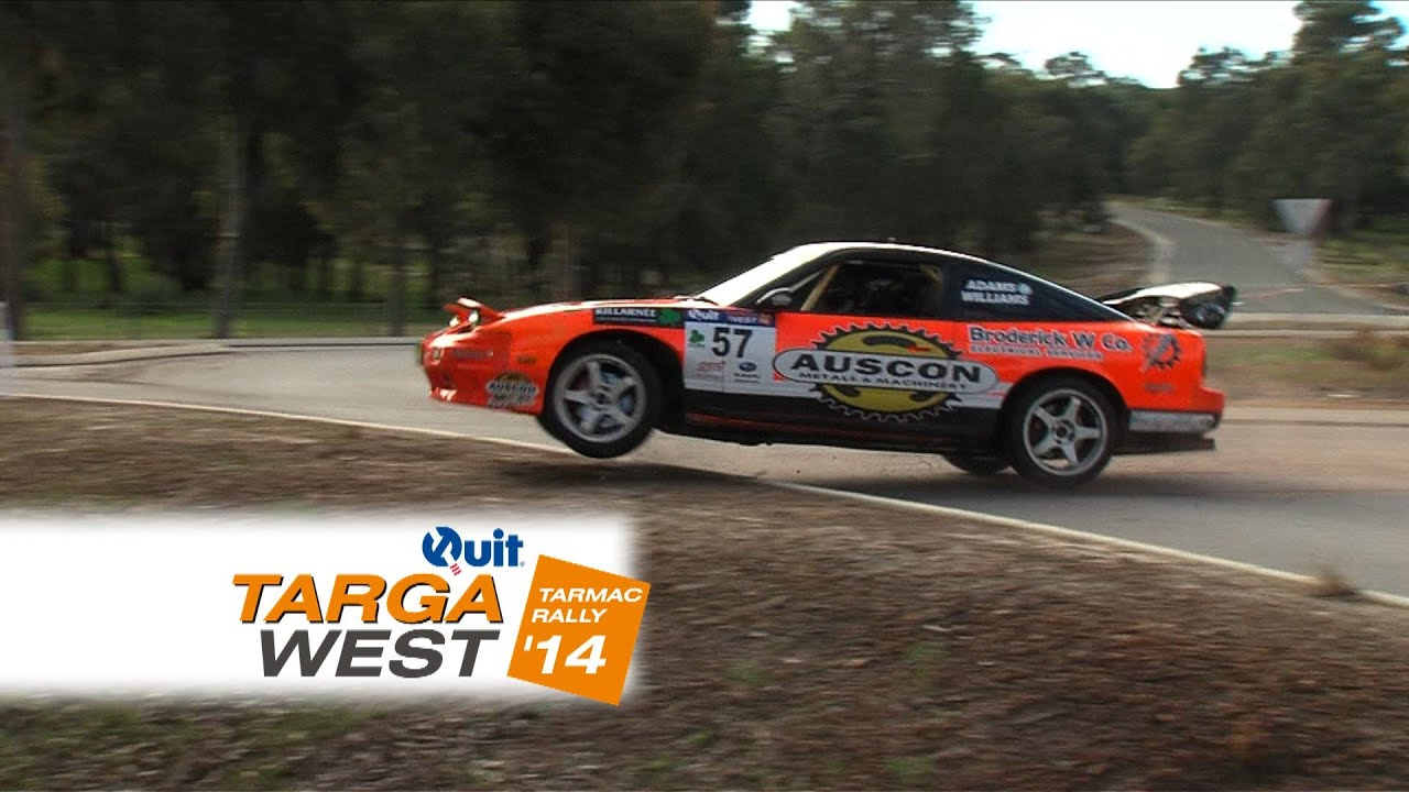 The new Auscon Maryville Downs Stage – Quit Targa West 2014