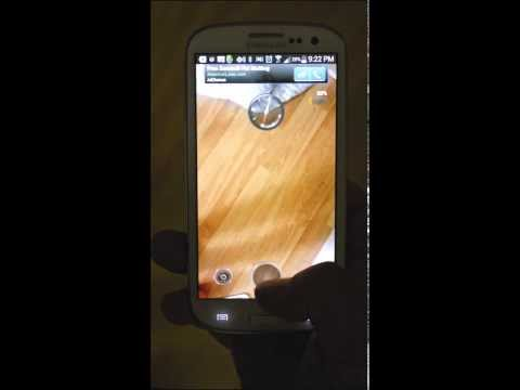 Video of HTC ONE Flashlight