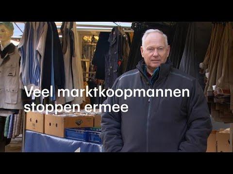 Jan stopt na 42 jaar met zijn marktkraam - RTL NIEUWS