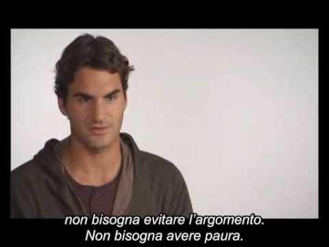 UNICEF - Roger Federer - Backstage spot Uniti per i bambini (видео)