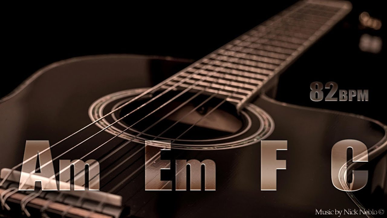 Acoustic Guitar Ballad Backing Track A Minor