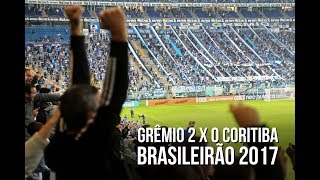 Brasileirão 2017 - 22/06/2017Grêmio 2 x 0 CoritibaTe inscreve no canal: https://www.youtube.com/rduckerSegue o site em todas as plataformas:Facebook: https://www.facebook.com/ducker.com.br/Twitter: https://twitter.com/Ducker_GremioInstagram: https://www.instagram.com/ducker_gremio/Loja do site: http://loja.ducker.com.br/