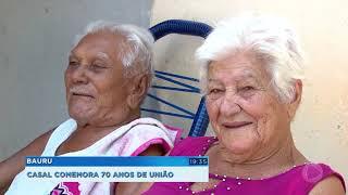Casal de Bauru comemora 70 anos de união