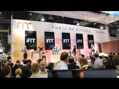 iFIT wearable choreographed dance at CES 2015