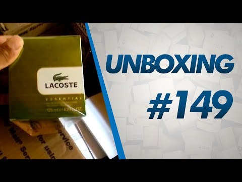 Unboxing #149 - Perfumes LACOSTE, PACO RABANNE, Relógio Smael e MAIS - 8 lb