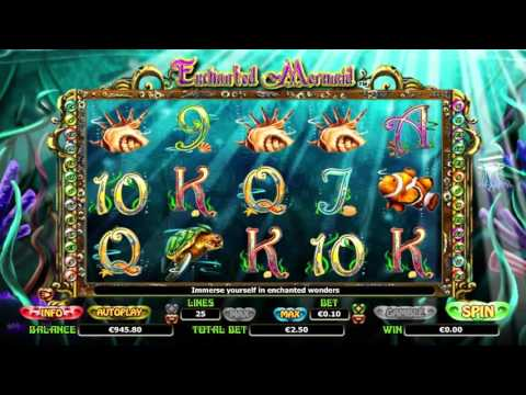 Enchanted mermaid™ free slots machine by NextGen Gaming preview at Slotozilla.com