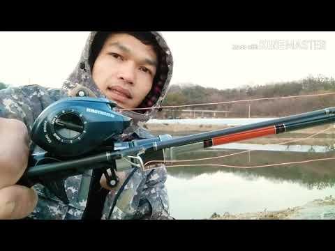 ทดสอบใช้งานรอก kastking spatarcus กับบรรยากาศหนาวๆในเกาหลี