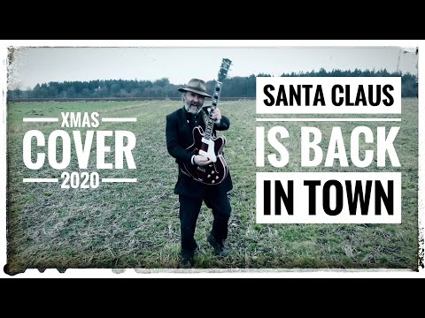 """Tommy Krappweis  """"Santa Claus Is Back In Town"""" Cover"""