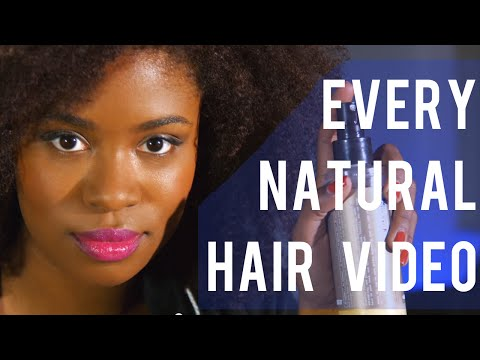 Every Natural Hair Video Ever | Akilah Obviously