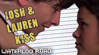 Josh and Lauren Kiss In The Canteen: Waterloo Road