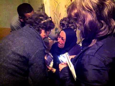 Khaled Said-s mother celebrates Egyptian revolution
