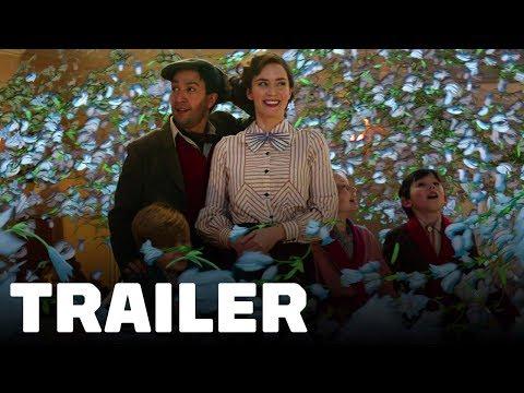 Mary Poppins Returns Trailer (2018) Emily Blunt, Lin-Manuel Miranda