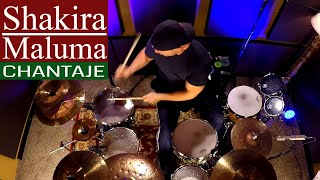Shakira ft. Maluma - Chantaje Version Salsa Drum Cover (High Quality Audio) ⚫⚫⚫