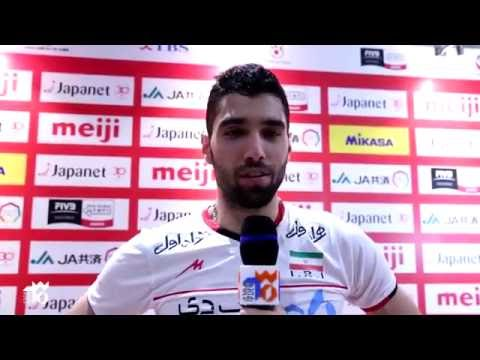 Mousavi Interview after the Game Japan | WOQT 2016 (видео)