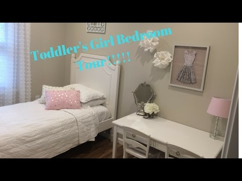 CUTE TODDLER GIRLS ROOM TOUR DECORATING SMALL BEDROOM