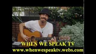 Gareth Asher - Perform (On When We Speak TV with Jermaine Sain)