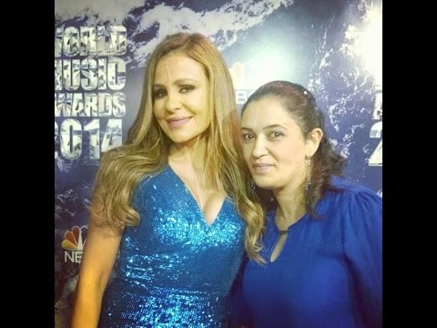 Carole Samaha - World Music Awards 2014