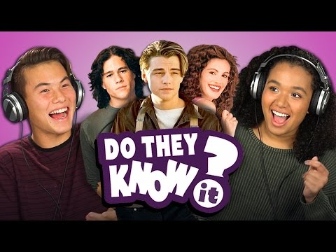 Do Teens Know 90's Romance Movies?
