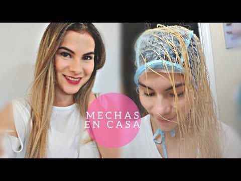 Como Hacer Mechitas Con Gorro En Casa.\DIY\Highlights At Home.