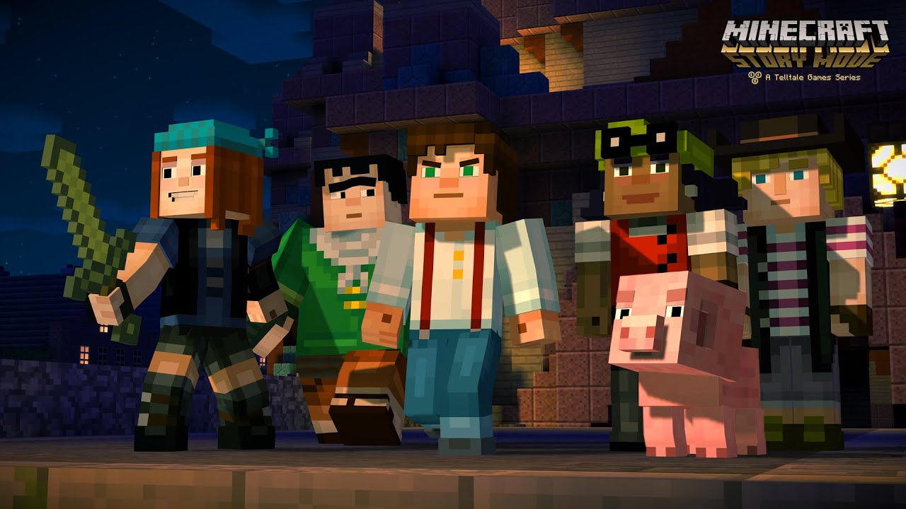 Both 'Minecraft: Story Mode' and 0.12 Update For 'Minecraft: Pocket Edition' Drawing Closer To Release