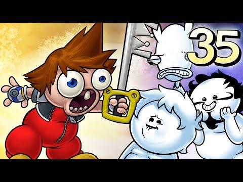 Oney Plays Kingdom Hearts WITH FRIENDS - EP 35 -  Enter Sandman (видео)