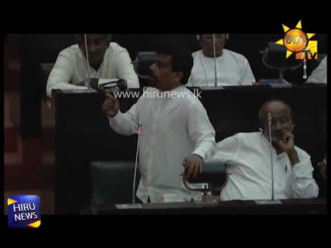 Confidence vote in Ranil passes in parliament, TNA votes for and JVP restrains from voting