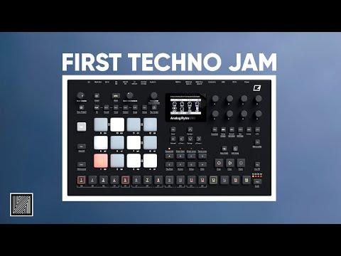 Analog Rytm mk2 Only First Techno Jam (Machine & Default Samples Only)