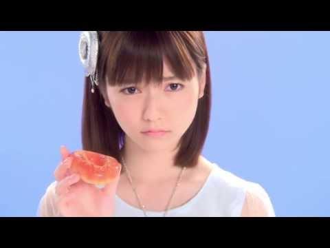 AKB48 島崎遥香 可愛すぎる ぱるるの「あ~ん」集 ぷるるんポン・デ・リング ミスタードーナツ Shimazaki Haruka