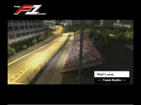 Vuelta virtual al Circuito de Singapur