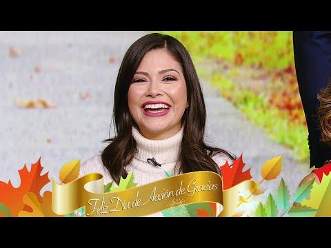 Ana Patricia tiene algo muy especial que agradecer este Thanksgiving